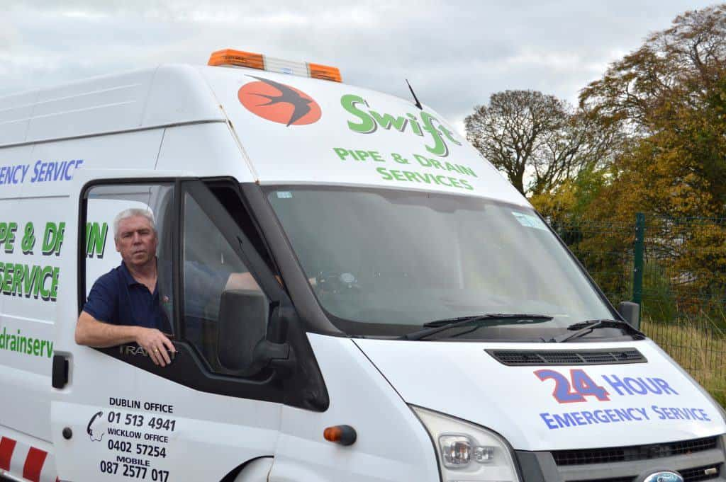 Drain Cleaning Ballsbridge | Swift Pipe & Drain Van